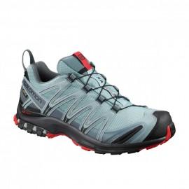Salomon Scarpe Hiking Xa Pro 3d Gtx Lead Azzurro Uomo
