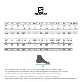 Salomon Scarpe Hiking Xa Pro 3d Weather Nero Grigio Uomo