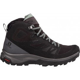 Salomon Pedule Trekking Outline Mid Gtx Nero Donna