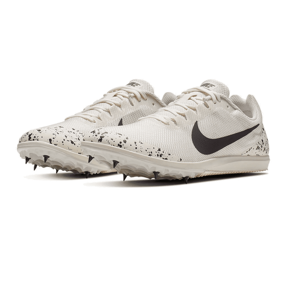 Nike Scarpe Running Zoom Rival D 10 Bianco Grigio Uomo