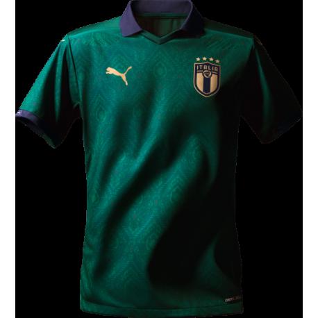 Puma Maglia Calcio Italia  3° Replica Verde Blu Bambino