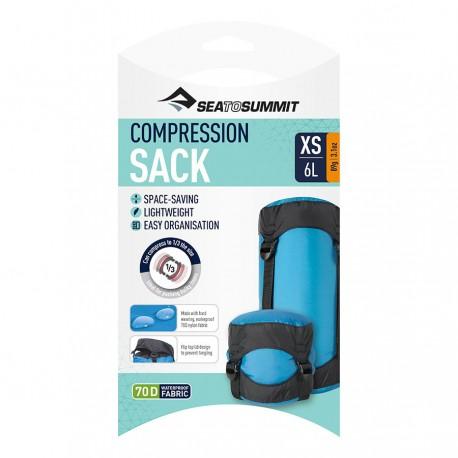 Sea To Summit Sacca Compressione Nylon Azzurro Uomo