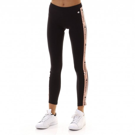 Champion Leggings Sportivi Stelle Nero Donna