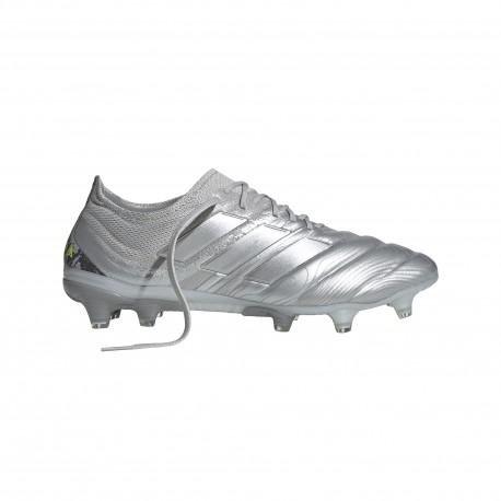 Adidas Scarpe Da Calcio Copa 20.1 Fg Argento Giallo Uomo