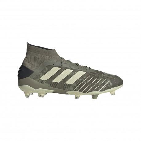 Adidas Scarpe Da Calcio Predator 19.1 Fg Verde Beige Uomo