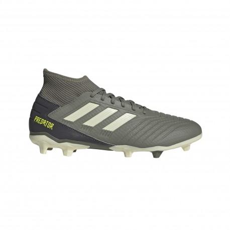 Adidas Scarpe Da Calcio Predator 19.3 Fg Verde Beige Uomo
