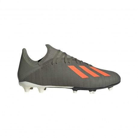 Adidas Scarpe Da Calcio X 19.3 Fg Verde Arancio Uomo