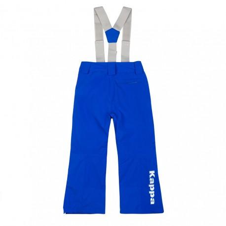 Kappa Pantaloni Sci 689 Fisi Blu Princess Bambino