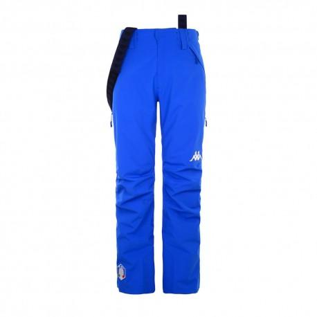 Kappa Pantaloni Sci 6cento 622 Hz Fisi Blu Uomo