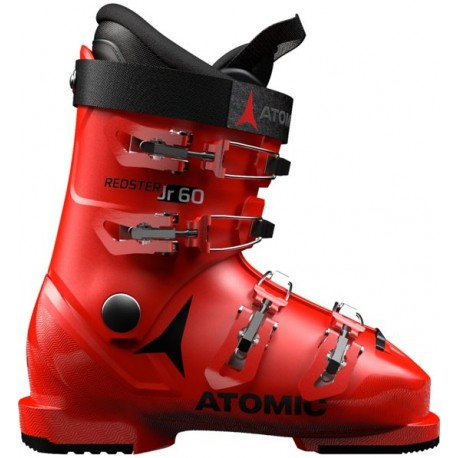 Atomic Scarponi Da Sci Redster 60 Red Nero Bambino
