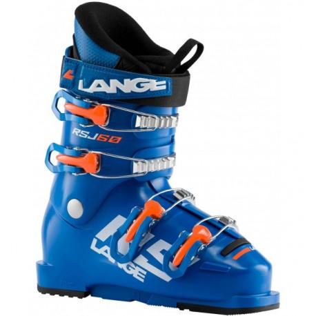 Lange Scarponi Da Sci Rsj 60 Power Blu Arancio Bambino