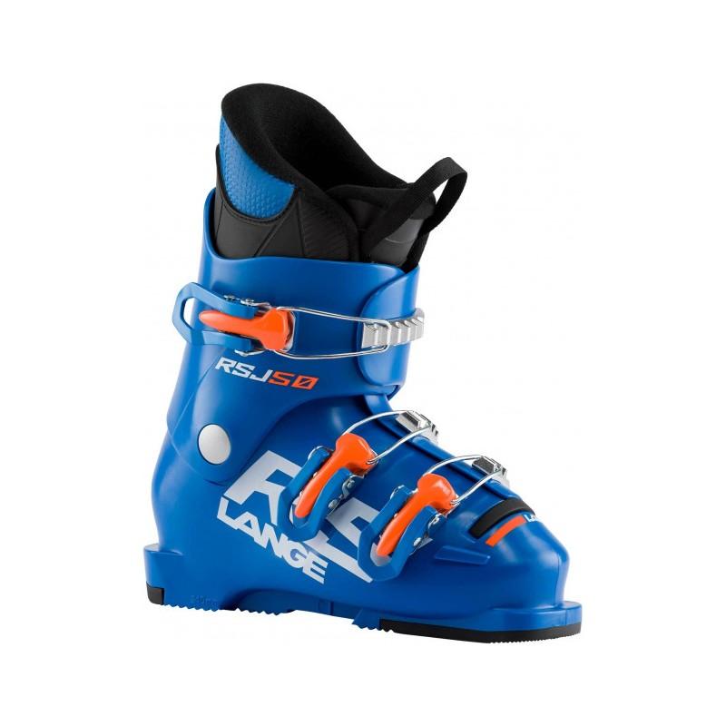 Lange Scarponi Da Sci Rsj 50 Power Blu Arancio Bambino