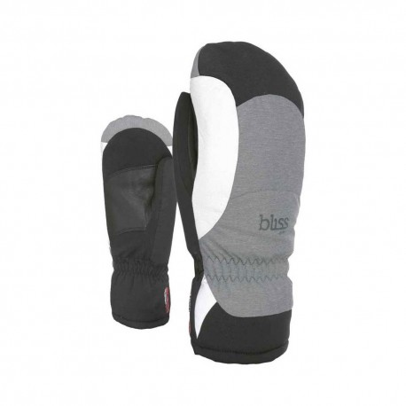 Level Guanti Sci Bliss Flame Mitt Nero Grigio Donna