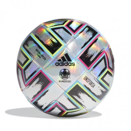 ADIDAS Pallone Calcio Uniforia Argento