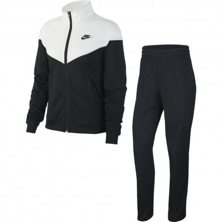 Nike Tuta Sportiva Heritage Nero Donna