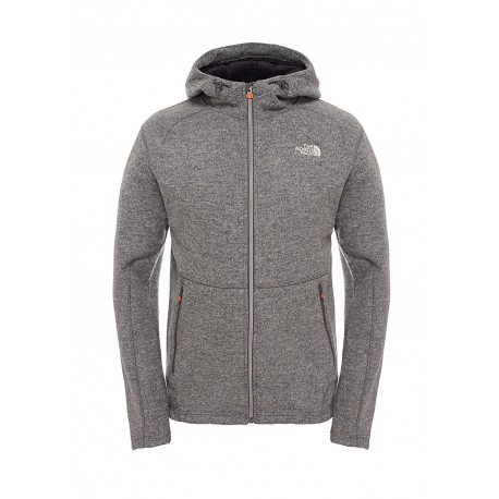 The North Face Giacca Zermatt Hoodie Monument Grey
