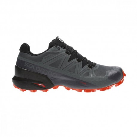 Salomon Scarpe Trail Running Speedcross 5 Gtx Nero Uomo
