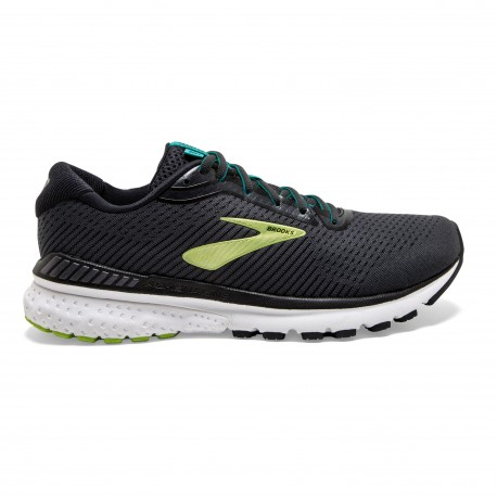 Brooks Scarpe Running Adrenaline Gts 20 Nero Lime Uomo