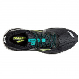 Brooks Scarpe Running Adrenaline Gts 20 Nero Lime Uomo