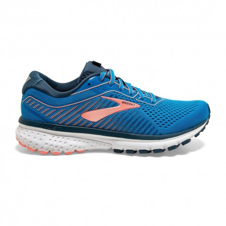 Brooks Scarpe Running Ghost 12 Blu Maiolica Donna