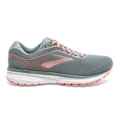 Brooks Scarpe Running Ghost 12 Lead Grigio Donna