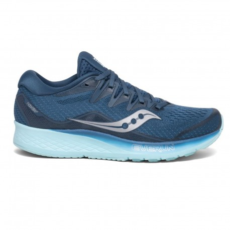 Saucony Scarpe Running Ride Iso 2 Blu Aqua Donna