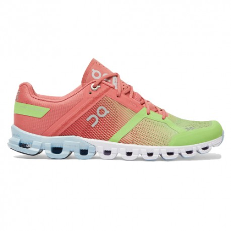 On Scarpe Running Cloudflow Guava Dustrose Donna