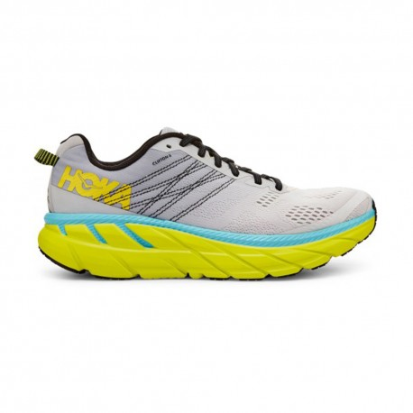 Hoka Scarpe Running Clifton 6 Lunar Rock Nimbus Cloud Uomo