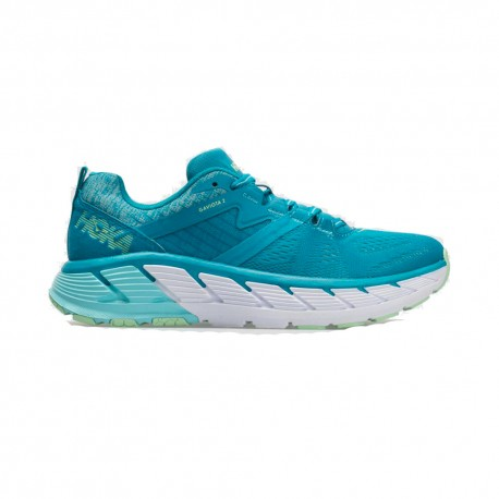 Hoka Scarpe Running Gaviota 2 Carribean Sea Green Ash Donna