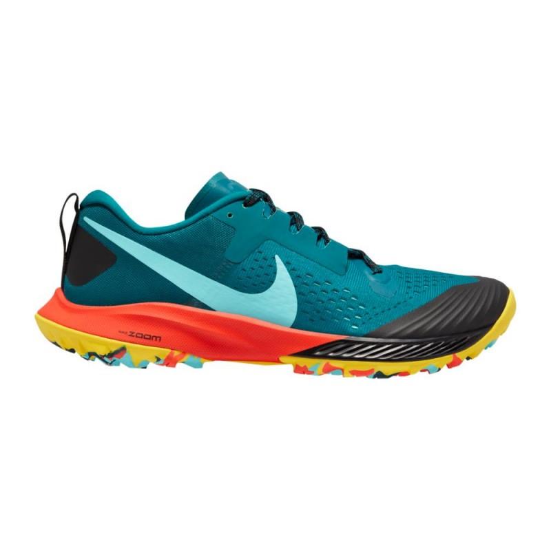 Nike Scarpe Trail Running Air Zoom Terra Kiger 5 Verde Uomo