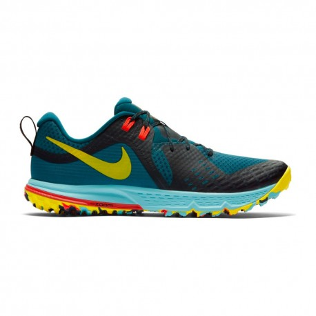 Nike Scarpe Air Zoom Wildhorse 5 Trail Blu Uomo