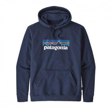 Patagonia Felpa P-6 Logo Uprisal Hoody Classic Blu Uomo