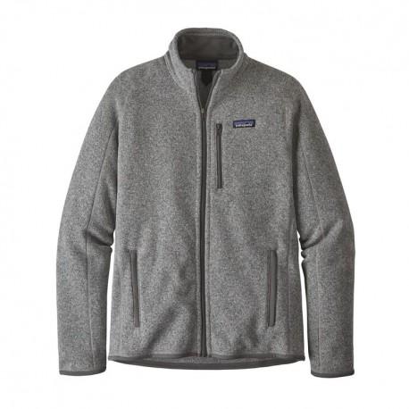 Patagonia Felpa In Pile Better Sweater Grigio Uomo