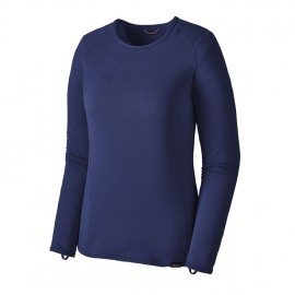 Patagonia Maglia Trekking Capilene Thermal Weight Blu Donna