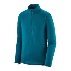 Patagonia Maglia Zip Capilene Thermal Weight Blu Uomo