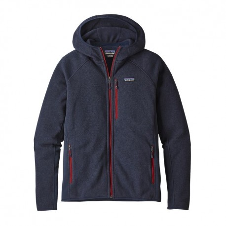 Patagonia Felpa Performance Better Sweater Hoody Blu Uomo