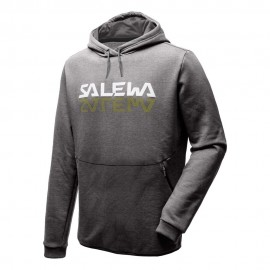 Salewa Felpa Trekking Reflection Dry Grigio Uomo