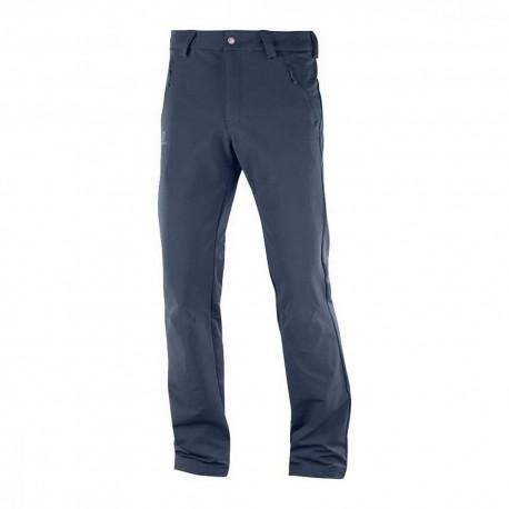Salomon Pantaloni Trekking Wayfarer Warm Blu Uomo