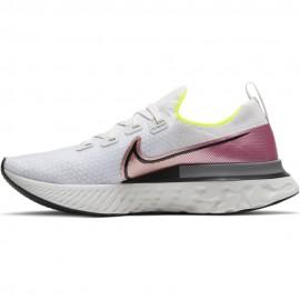 Nike Scarpe Running React Infinity Run Bianco Rosa Uomo