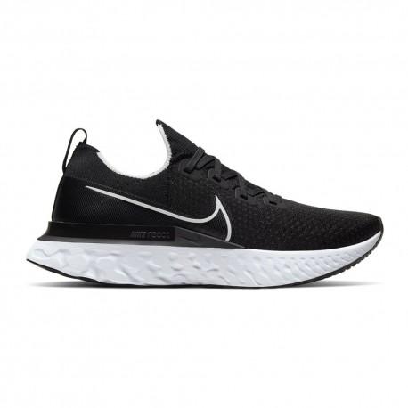 Nike Scarpe Running React Infinity Run Fk Nero Bianco Uomo
