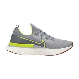Nike Scarpe Running React Infinity Flyknit Grigio Uomo