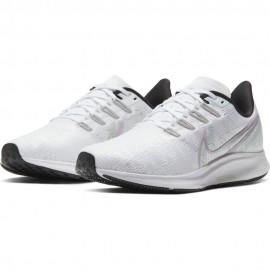 Nike Scarpe Running Pegasus 36 Premium Bianco Verde Donna
