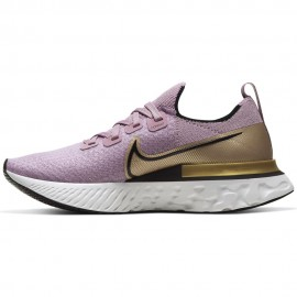 Nike Scarpe Running React Infinity Run Nero Oro Donna