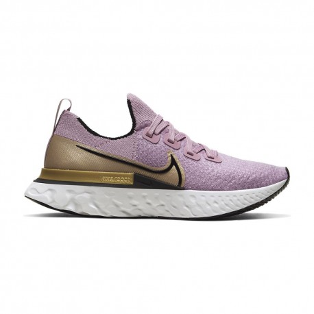 Nike Scarpe Running React Infinity Run Nero Oro Donna