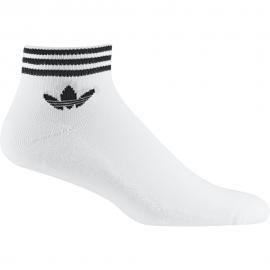 ADIDAS originals calze corta logo bianco unisex
