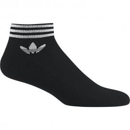 ADIDAS originals calze corta logo nero unisex