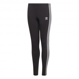 ADIDAS originals leggings 3 stripes nero bambino