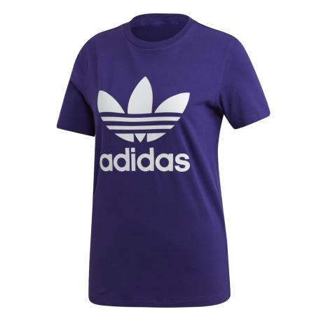 ADIDAS originals t-shirt trefoil viola donna