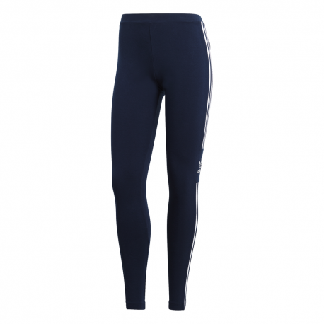 ADIDAS originals leggings trefoil blu donna