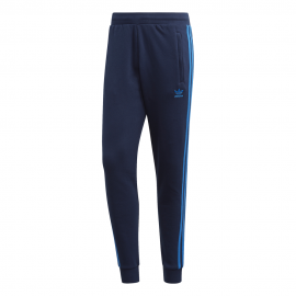 ADIDAS originals pantaloni 3 stripes blu uomo